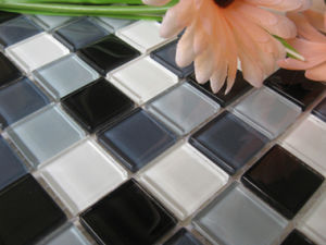 Crystal Glass Mosaic for Shower Room Wall (A027)