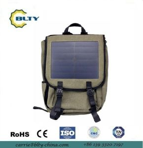 2017 Canvas Outdoor Solar Charger Bag Solar Backpack pictures & photos