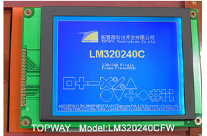 "320X240 5.1"" Graphic LCD Module Cog Type LCD Display (LM320240C) pictures & photos"