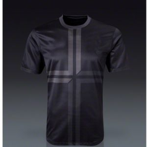 Black Dry Fit Men′s Soccer Jersey, Active Nk Style T-Shirt, Cool Portuguesa League Sport Wear pictures & photos