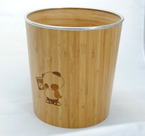 Bamboo Storage Container pictures & photos