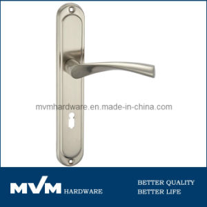 Aluminum Door Handles on Plate (A1205S001) pictures & photos