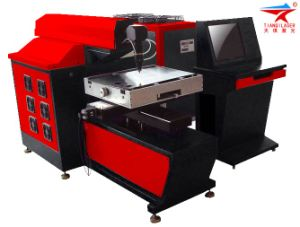 400*400mm Small Solid Lamp Pump Laser Cutter for Metals (TQL-LCY500-0404)