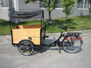 """24"""" Heavy Duty Cargo & Passenger Tricycle (FP-TRB-J013) pictures & photos"""