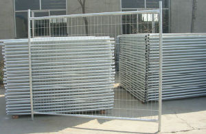 Hot-DIP or Electro Galvanized Square Temporary Fence (TF01) pictures & photos