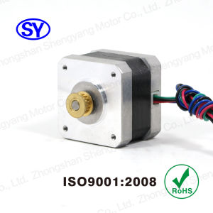 Flange 42mm 0.9deg Hybrid Stepper Electrical Motor pictures & photos