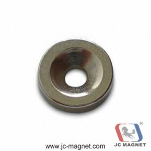 Sintered NdFeB Counterbore Magnet pictures & photos