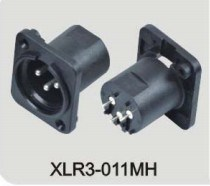 XLR Audio/Video Connector (XLR3-011MH) pictures & photos