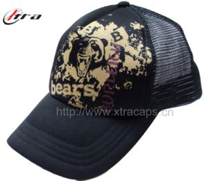 Bear Printed Trucker Hats Mesh Cap pictures & photos