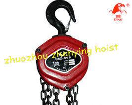 Hand Operated Chain Hoist/Block (HSZ-80B)