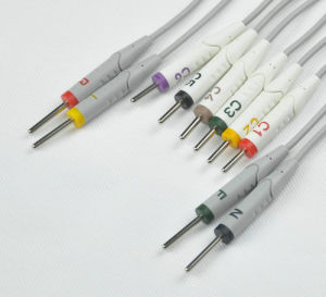 Burdick One-Piece 10ld ECG/EKG Cable pictures & photos