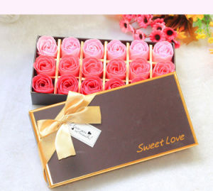 Multifunctional Flower Packing Box/ Storage Box with Gold Ribbon