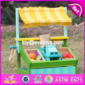 New Design Funny Fruit Play Set Wooden Kids Supermarket Toy W10A060 pictures & photos
