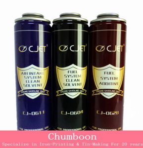 Clean Solvent Aerosol Tin Cans