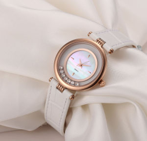 Fashion Lady Watch White Shell Dial Antique Women Watch pictures & photos