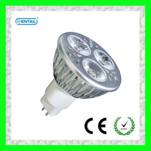 AC100-240V 3W MR16 LED Spot Light with CNC Aluminum Body