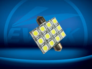 LED Car Light / Auto LED Lighting / 31mm 12SMD 5050 Festoon Light LED Auto Lamp pictures & photos