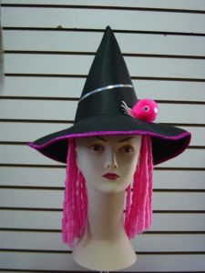 Hat With Wig (9344)