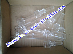 2014 Domeless Quartz Nail, 14mm, 18mm, 19mm Domless Quartz Nail with Male and Female Joint pictures & photos