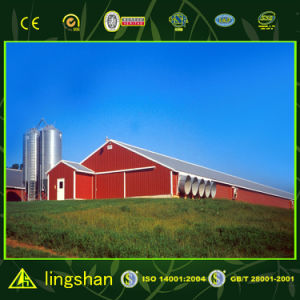 Cheap PU Sandwich Panel Poultry House Chicken Farm pictures & photos