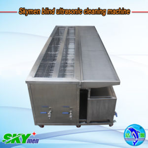 Skymen Most Advance Ultrasonic Blind Cleaner with Cleaning, Rinsing, Filter System pictures & photos