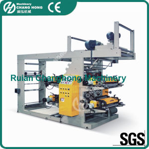 (CE) Roll Paper Flexographic Printing Machine (CH884 series) pictures & photos