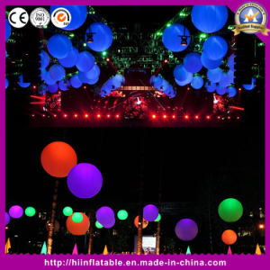 New! ! Attractive Christmas Decoration Inflatable Ball with LED Lights pictures & photos