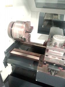 CNC Lathe with Flat Bed and Hardened Rail (JD40/CK6140) pictures & photos