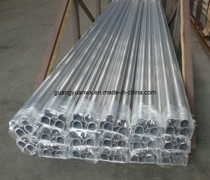 High Quality Polished Aluminium Tube 6060 for Equipment pictures & photos