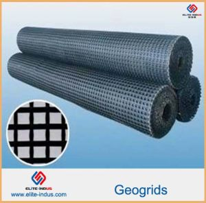 Plastic PP HDPE Pet Fiberglass Geogrids pictures & photos
