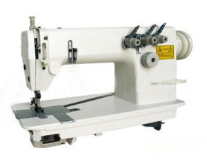 High-Speed Twin-Needle Chain-Stitch Sewing Machine (OD3800) pictures & photos