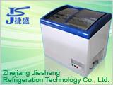Low Temperature Glass Door Freezer (SD-218Y) pictures & photos