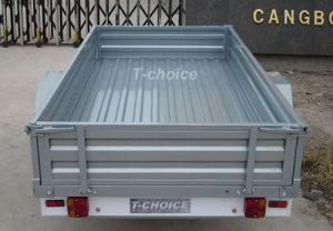 Powder Coated Box Trailer