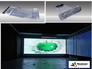 P30 Transparent Flexible LED Display (Apollo 30) pictures & photos