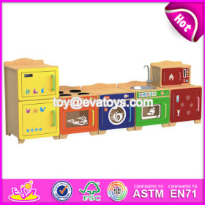 Best Design Children Bedroom Furniture Wooden Play Kitchen W10c273 pictures & photos