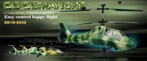 ESKY Co-Comanche 4CH Co-axial RC Helicopter (EK1H-E035)