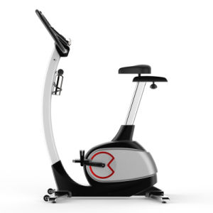 Home Gym Cardio Exercise Bike with LCD Monitor APP