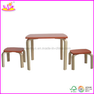 2013 New design bentwood kid table and chair (W08G066) pictures & photos