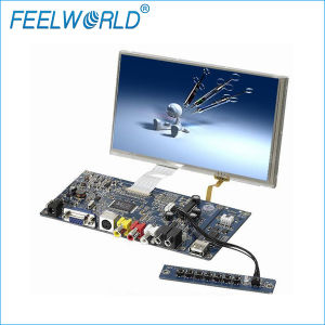 Small Touch Screen 7 Inch Widescreen TFT LCD Module Display with VGA AV S-Video Inputs
