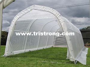 Strong DIY Garden Tool Storage Shed Multipurpose Greenhouse (TSU-1228G) pictures & photos