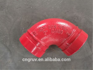 "2"" Short Grooved Elbow in Red, Grooved Fittings pictures & photos"