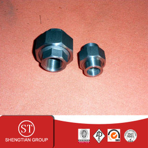 Carbon Socket Pipe Fitting Union 3000# pictures & photos