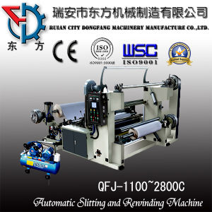 Automatic Sliiting and Rewinding Machine (QFJ-800-2800C) pictures & photos