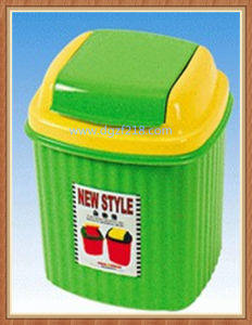 Colored Quality Plastic Trash Can for House