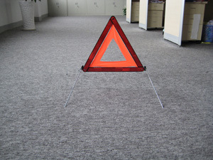 Reflective Triffic Sign Warning Triangle with E-MARK Certificate (WT-03)