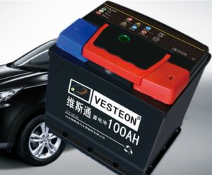 12V Maintenance Free Dry Charged Auto Car Truck Battery pictures & photos