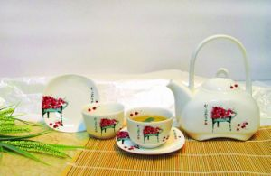 Activity Cherry Tea Set - Qi Baishi(CQ3490001011-4)