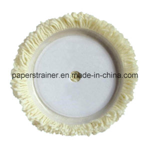 Natural White Wool Pad 180mm pictures & photos