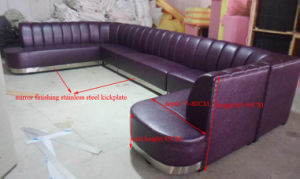 Hot Sale Karaoke Lounge Suite Leather Sofa (KTV130) pictures & photos
