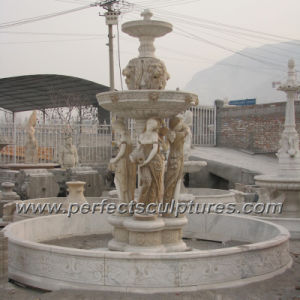 Stone Marble Water Fountain for Garden Sculpture (SY-F354) pictures & photos